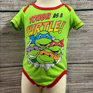 One Size Green Baby-Boys Infant TMNT Diaper Cover with Cape